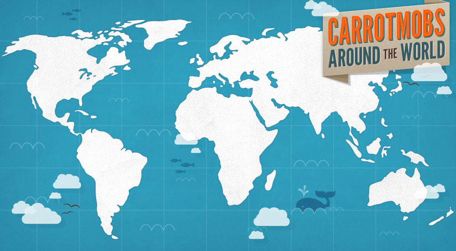 Carrotmob Campaigns World Map